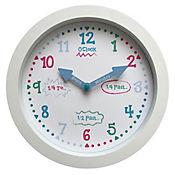 Reloj Infantil Borde Rojo 25 cm