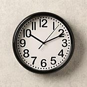 Reloj Negro 21 cm
