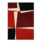 Tapete Royal 120x170 cm Cuadros Rojo