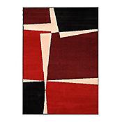 Tapete Royal 160x225 cm Cuadros Rojo