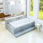 Tina Qatar 180x100 cm - Blanco