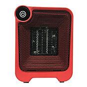 Termoventilador Cerámico Eléctrico de Interior 500w GLw-3 Rojo