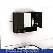 Gabinete de baño espejo spa wenge 53x63x20 cm