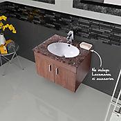 Mueble Isla Natural para Lavamanos 58x45.5x46.5 cm