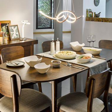 Mesa para Comedor Oslo Extension 150a190x90x76cm
