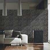 Papel Mural Barroco Beige - Negro 5 m2 Trends