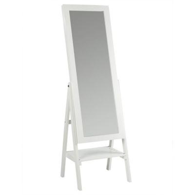 Espejo decorativo de piso espel 176 cm blanco spamds glass 310456 - Fijaciones para espejos ...