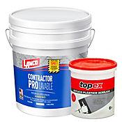 Contractor PRO 5 galones GRATIS Estuco Plástico Topex 6 Kg