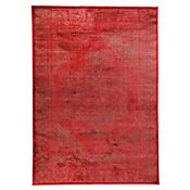 Tapete Vintage 120x170 cm Rojo