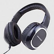 Audífonos sin Micrófono Soporte Diadema Auriculares Grandes Negro HP-501