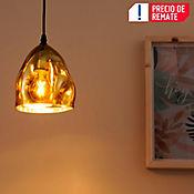 Lámpara Colgante Amie 1 Luz E27 Dorado