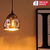 Lámpara Colgante Amie 1 Luz E27 Gris Plomo