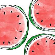 Servilleta Melons 25x25cm