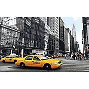 Tapete Entrada Taxi NY 50x80 cm Estampado