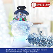 Muñeco Nieve Santa.Reino Led