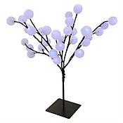Árbol 60cm 32 Luces Led Ball Azul