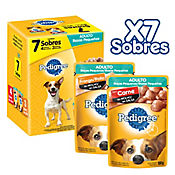Pedigree Pack Adulto x 7 Sobres