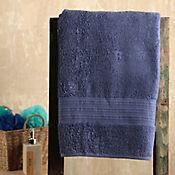 Toalla para Cuerpo Lines 70x135 cm 100% Algodón Turco Azul Oscura