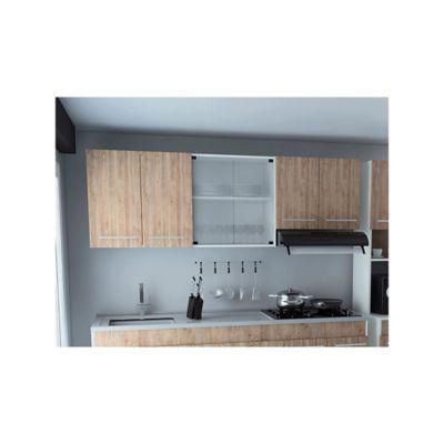 Mueble superior cocina metros bari rta 315553 for Muebles de cocina homecenter