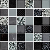 Mosaico Cerámico Persei 30x30 Centímetros Negro