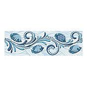 Listón Cerámico Allegro 43x13.5 cm Azul