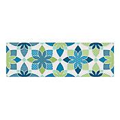 Listón Clavelina azul 43x13.5cm