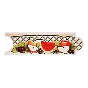 Listello para Cocina Arándano 8x25 cm Rojo