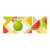 Listello para Cocina Happy 10x25 Centímetros Multicolor