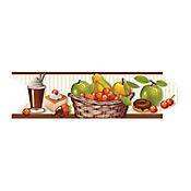 Listello para Cocina Pecatto 8x25 Centímetros Multicolor