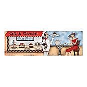 Listón Cerámico Chocolat 43x13.5 Centímetros Multicolor