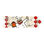 Listello para Cocina Nuevo Cocinerito 8x25 cm Rojo