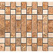 Mosaico Cerámico Filosofal 33x31 Centímetros Multicolor