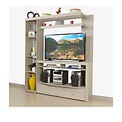 Centro de Entretenimiento Lounge 200x180x35,4 cm Ceniza