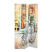 Biombo 120x180 cm Bici Vintage