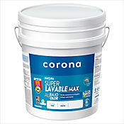 Pintura Superlavable Max Blanco 5 Galones