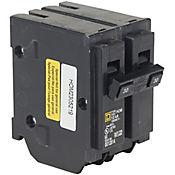 Mini Breaker Homeline, 2 Polos, 20 A, 10 kA, 120-240 V AC, Enchufable