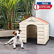 Casa Para Perro Plástica 68 x 61 x 58.5 cm Razas Pequeñas