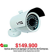 Cámara Tipo Bala Full HD 1080P Vision Nocturna