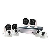 Kit DVR AHD 8 Cámaras (4 Domo/4 Bala) 720P HD 1 Tera
