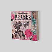 Cuadro Decorativo France 30x30 cm