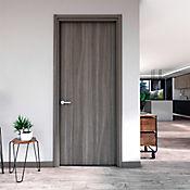 Puerta Lista Humo 70x224 cm - Ap. Izquierda
