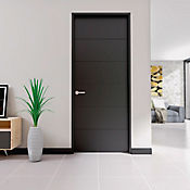 Puerta Valerie 60x214 cm Chocolate