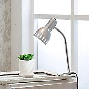 Lámpara Escritorio Clip E27 Plata