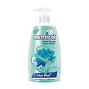 Jabón Líquido Para Manos Menticol Blue Frost Válvula 500 Ml