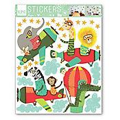 Sticker 1 Lamina Selva Aviones