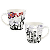 Mug 405cc Sabores del Mundo England