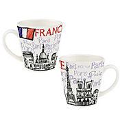 Mug 405ml Sabores Del Mundo France