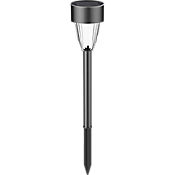 Estaca Solar LED Negro 33.9cm