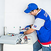 Instalación lavadora frontal - int