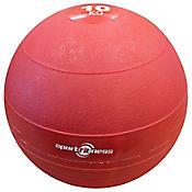 Balón Peso 10Kg Caucho Rojo